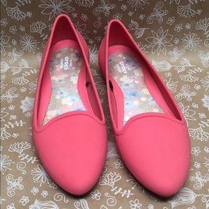 Pretty Crocs Loafers / Flats ❤️ Sz 8